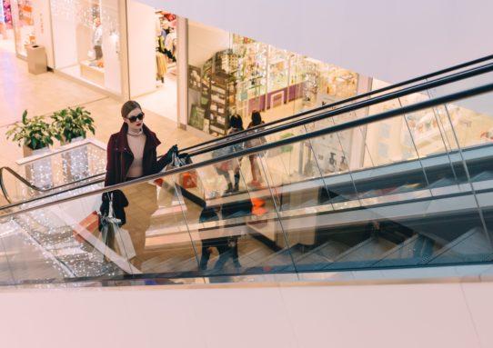 upscale shopping center