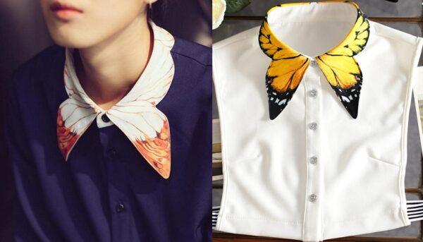 Butterfly Neck Design